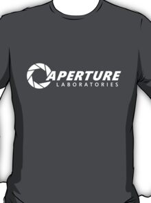Aperture Science / Aperture Laboratories | White T-Shirt