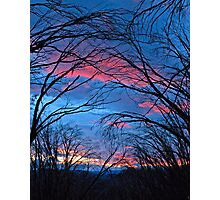 Feathertop Sunset Photographic Print