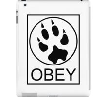 Furry Propaganda : OBEY iPad Case/Skin