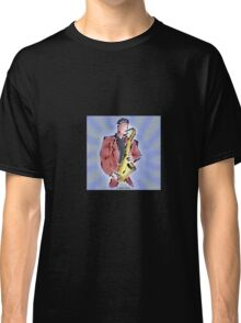 Man with Sax Classic T-Shirt