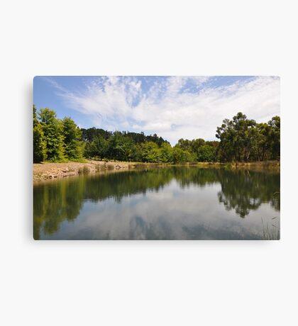 Melbourne Reflection Canvas Print
