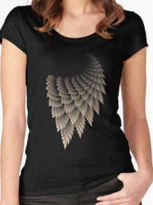 BEIGE LACE Women's Fitted Scoop T-Shirt