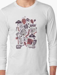 Rock, Shit Long Sleeve T-Shirt