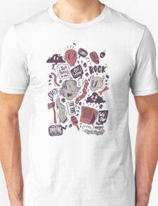 Rock, Shit Unisex T-Shirt