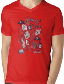 Rock, Shit Mens V-Neck T-Shirt