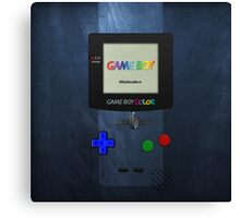 Gameboy Color Canvas Print