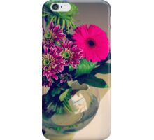 Birthday Flowers iPhone Case/Skin