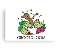 Groot of the Loom Canvas Print