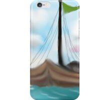 Sailing on Turquoise Seas iPhone Case/Skin
