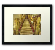 Hidden Treasure #2 - National Mutual Building , Sydney Austtralia - The HDR Experience Framed Print