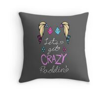 Lets get crazy!-new colors Throw Pillow