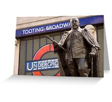 King Edward VII's Statue, Tooting Broadway Greeting Card