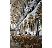 Salisbury Cathedral Nave Photographic Print