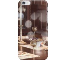 Antique Table Collage iPhone Case/Skin