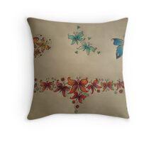 Butterflies and Love Throw Pillow