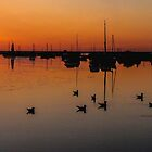 A Blakeney sunset by Mortimer123
