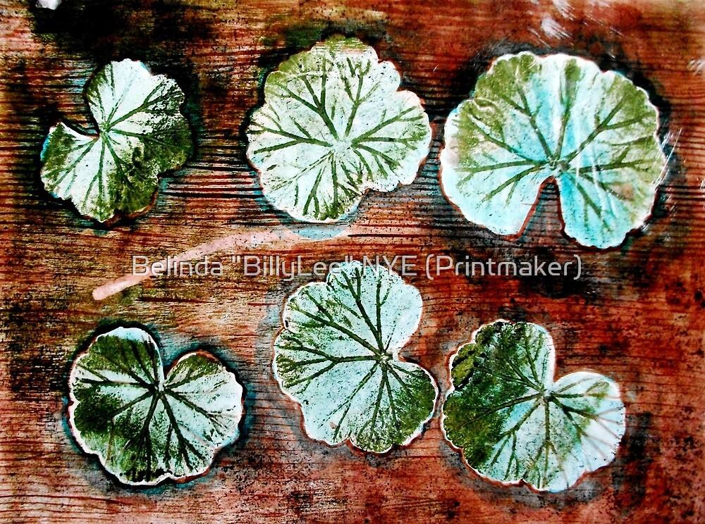 """Novembers Garden 12 by Belinda """"BillyLee"""" NYE (Printmaker)"""