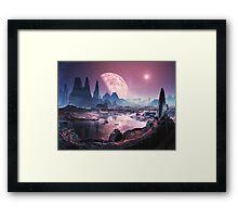 Planet Iridium at Noon Framed Print