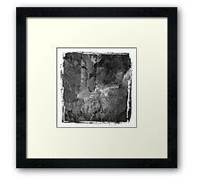 The Atlas of Dreams - Plate 6 (b&w) Framed Print