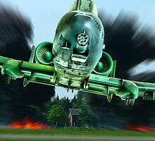 A-10 - Tankbuster !!! by Colin  Williams Photography