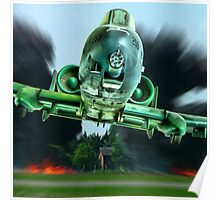 A-10 - Tankbuster !!! Poster