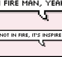 BTS / IN FIRES, MAN! Sticker