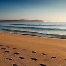 Footprints in the Sand by Bart Reardon