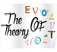 The teory of evolution Poster