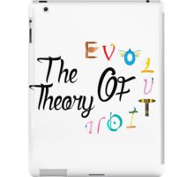 The teory of evolution iPad Case/Skin