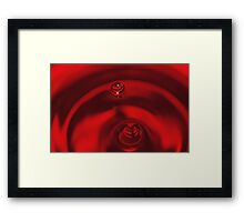 Saturn is Falling Framed Print