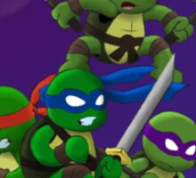 Chibi Mutant Ninja Turtules Sticker