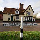 ~ The Peacock Inn, Chelsworth, Suffolk by Christopher Cullen