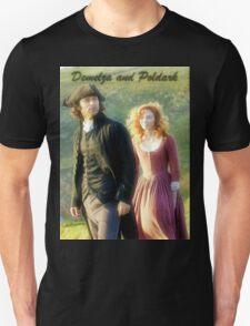 Demelza Carne and Ross Poldark in Cornwall T-Shirt