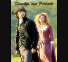 Demelza Carne and Ross Poldark in Cornwall Unisex T-Shirt