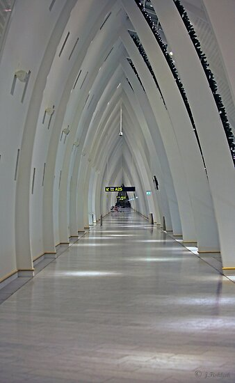 Part of Copenhagen Airport by imagic