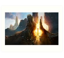 The Amber Sanctuary Art Print