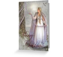Tinsel Greeting Card