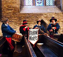 Ludlow Waites, Medieval music players. by artfulvistas