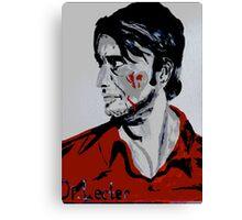 Dr. Lecter  Canvas Print
