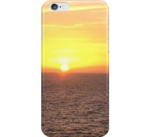 Sunset in the Caribbean  iPhone Case/Skin