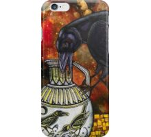 Crow and Pitcher iPhone Case/Skin
