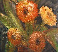 Sunflowers by Carolyn Stringer