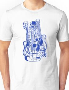 10 Guitars Unisex T-Shirt