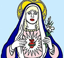 Virgin Courtney Love by Polly Bond