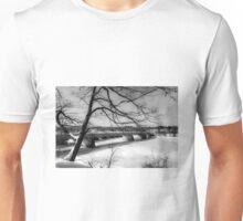 The Fenimore Bridge in Winter Unisex T-Shirt