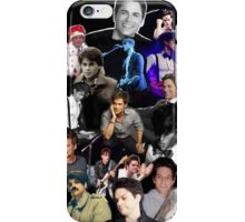 Dallon Weekes and Rob Lowe Collage iPhone Case/Skin