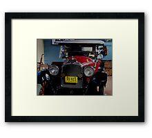 Vintage Auto Framed Print