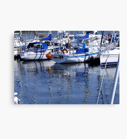 Annarchy - Caernarfon Harbour Canvas Print