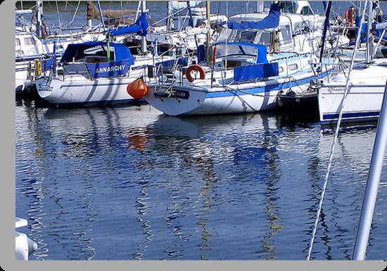 Annarchy - Caernarfon Harbour by Trevor Kersley