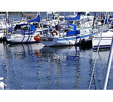 Annarchy - Caernarfon Harbour Photographic Print